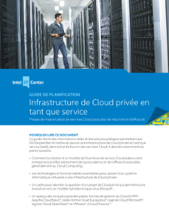 Guide de planification sur l'infrastructure de Cloud privée en tant que service