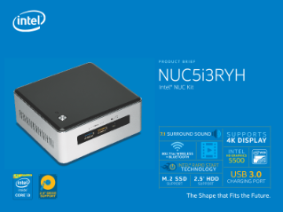 Intel® NUC Kit NUC5i3RYH Product Brief