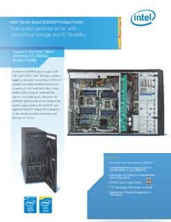Intel® Server Board S2600CP Product Brief