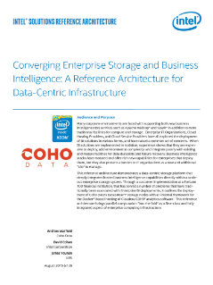 Coho Data Reference Architecture for Data-Centric Infrastructure