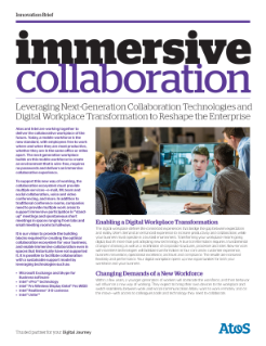 Intel and Atos Next Generation Collaboration Innovation Brief