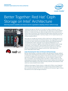 Scalability with Red Hat Ceph Storage* on Intel® Architecture