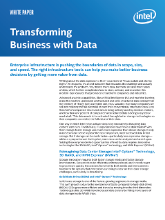 Transforming Business with Data